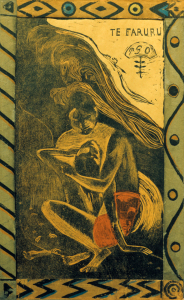 Picture no: 30001822 P.Gauguin / Te Faruru / Woodcut / 1894 Created by: Gauguin, Paul