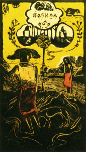 Picture no: 30001826 P.Gauguin / Noa Noa / Woodcut / 1894 Created by: Gauguin, Paul