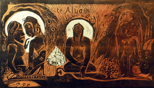 Picture no: 30001828 P.Gauguin / Te Atua / 1894 Created by: Gauguin, Paul