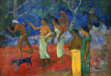 Picture no: 30001836 P.Gauguin /Scenes of Tahitian Life/ 1896 Created by: Gauguin, Paul
