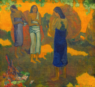 Picture no: 30001840 P.Gauguin / Three Tahiti women / 1899 Created by: Gauguin, Paul