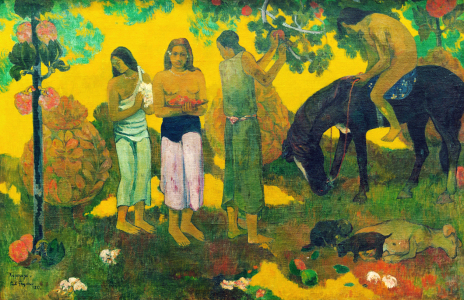 Picture no: 30001842 P.Gauguin / Oh Wonderful Country / 1899 Created by: Gauguin, Paul