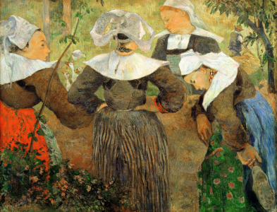 Picture no: 30001854 P.Gauguin, Breton peasant women Created by: Gauguin, Paul