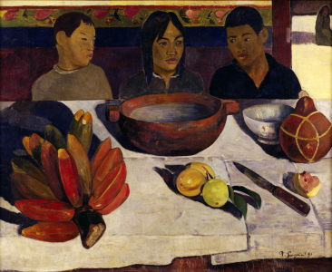 Picture no: 30001862 Gauguin, Tahitian boys at table Created by: Gauguin, Paul