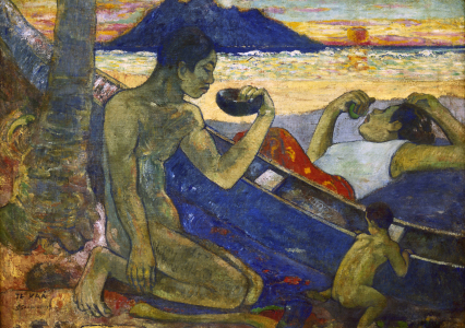 Picture no: 30001872 Gauguin / The Canoe / 1896 Created by: Gauguin, Paul