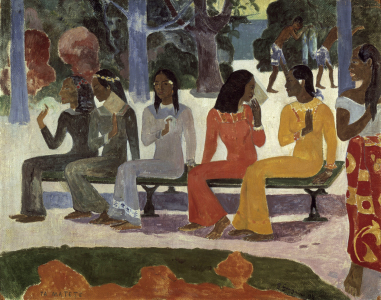 Picture no: 30001874 Gauguin / Ta Matete / 1892 Created by: Gauguin, Paul
