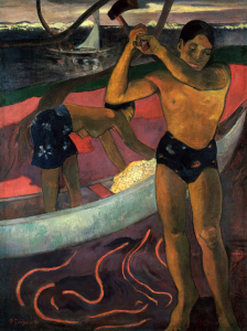 Picture no: 30001876 Gauguin, The Woodcutter from Pia Created by: Gauguin, Paul