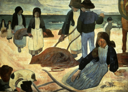 Picture no: 30001878 Gauguin, Breton Seaweed Collector Created by: Gauguin, Paul