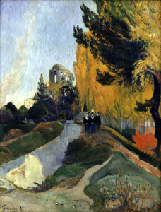 Picture no: 30001880 P.Gauguin / Les Alyscamps / 1888 Created by: Gauguin, Paul