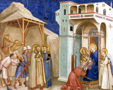 Picture no: 30001888 Giotto / Adoration of Kings / Assisi Created by: Giotto di Bondone