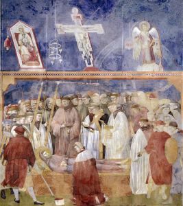 Picture no: 30001950 Giotto / Jerome and St. Francis' stigmas Created by: Giotto di Bondone