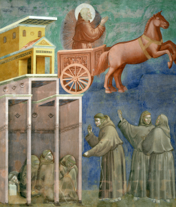 Picture no: 30001952 Giotto / St. Francis and the monks Created by: Giotto di Bondone