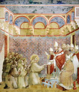 Picture no: 30001956 Confirmation of Order / Fresco /c. 1295 Created by: Giotto di Bondone