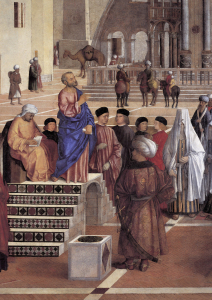 Picture no: 30001978 G.Bellini / Sermon of St.Mark / 1508 Created by: Bellini, Giovanni
