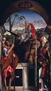 Picture no: 30002006 Giov.Bellini / Jerome and Christopher Created by: Bellini, Giovanni