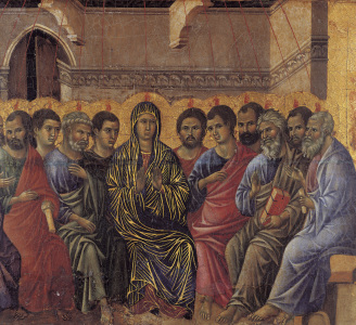 Picture no: 30002116 Duccio / Pentecost / Paint./ c.1308 Created by: Duccio (di Buoninsegna)