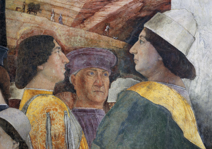 Picture no: 30002136 Federico I Gonzaga / Fresco by Mantegna Created by: Mantegna, Andrea
