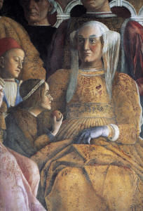 Picture no: 30002144 Barbara of Brandenburg / Fresco,Mantegna Created by: Mantegna, Andrea