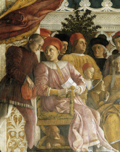 Picture no: 30002152 Ludovico Gonzaga & Family / Mantegna Created by: Mantegna, Andrea