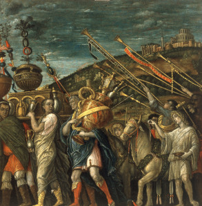 Picture no: 30002166 after Mantegna, Triumph of Caesar,spoils Created by: Mantegna, Andrea