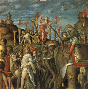 Picture no: 30002168 from Mantegna, Triumph of Caesar, eleph. Created by: Mantegna, Andrea