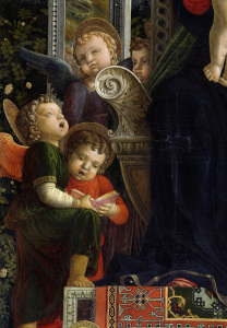 Picture no: 30002198 A.Mantegna, Altar of S. Zeno. Angels Created by: Mantegna, Andrea