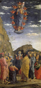 Picture no: 30002210 Ascension of Christ / Mantegna / c.1464 Created by: Mantegna, Andrea