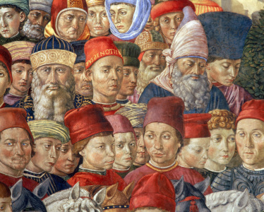 Picture no: 30002238 Gozzoli/The Three Magi/Detail/1459/1461 Created by: Gozzoli, Bennozzo