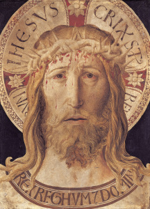 Picture no: 30002268 B.Gozzoli, Head of Christ / Paint./ C15 Created by: Gozzoli, Bennozzo