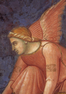 Picture no: 30002298 A.Lorenzetti /Buon Governo, Angel/Fresco Created by: Lorenzetti, Ambrogio