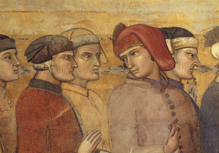 Picture no: 30002318 A.Lorenzetti /Council of 24, Det.Fresco Created by: Lorenzetti, Ambrogio