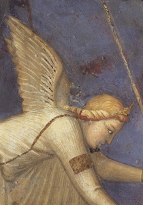 Picture no: 30002332 A.Lorenzetti /Buon Governo, Angel/Fresco Created by: Lorenzetti, Ambrogio