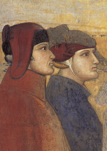 Picture no: 30002354 A.Lorenzetti /Council of 24, Det.Fresco Created by: Lorenzetti, Ambrogio