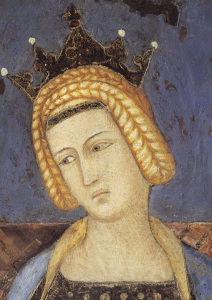 Picture no: 30002368 A.Lorenzettib /Temperantia (Head)/Fresco Created by: Lorenzetti, Ambrogio