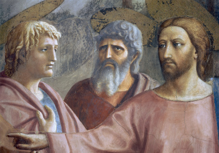 Picture no: 30002462 The Tribute Money / Masaccio / 1425 Created by: Masaccio (Tommaso di Giovanni di Simone Guidi)