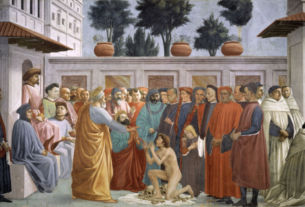 Picture no: 30002466 Masaccio / Resurection of Theophilus Created by: Masaccio (Tommaso di Giovanni di Simone Guidi)