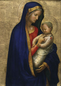Picture no: 30002470 Madonna and Child / Masaccio / c.1426 Created by: Masaccio (Tommaso di Giovanni di Simone Guidi)