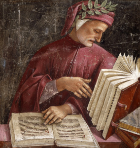 Picture no: 30002486 Dante / Fresco by Signorelli / c.1500 Created by: Signorelli, Luca