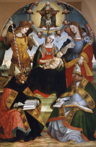 Picture no: 30002518 L.Signorelli, Mary with Child, Trinity Created by: Signorelli, Luca