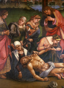 Picture no: 30002522 Signorelli, Deposition from the Cross Created by: Signorelli, Luca