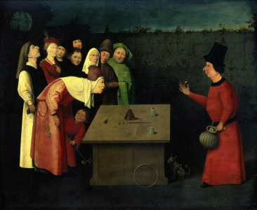 Picture no: 30002542 after H.Bosch / The Conjuror Created by: Bosch, Hieronymus