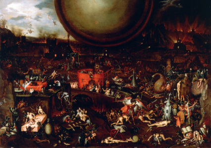 Picture no: 30002544 Hell / Painting after Hieronymus Bosch Created by: Bosch, Hieronymus