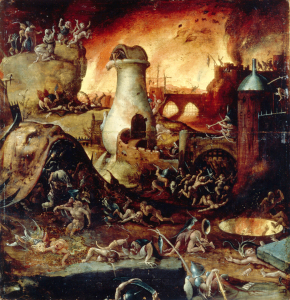 Picture no: 30002546 Studio of H. Bosch, Hell Created by: Bosch, Hieronymus