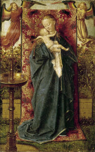 Picture no: 30002602 Madonna at the Well / Van Eyck / 1439 Created by: van Eyck, Hubert & Jan