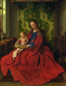 Picture no: 30002606 Jan van Eyck, Madonna and Child / c.1435 Created by: van Eyck, Hubert & Jan