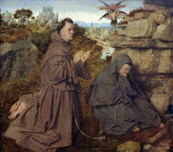 Picture no: 30002612 J.v.Eyck / Stigmatisation of St. Francis Created by: van Eyck, Hubert & Jan