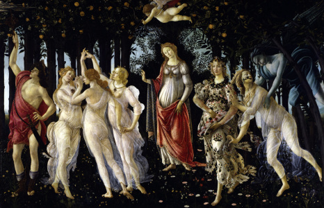 Picture no: 30002634 Botticelli / La Primavera / c.1477/78 Created by: Botticelli, Sandro