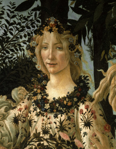 Picture no: 30002642 Botticelli /Primavera, Det.: Flora/ C15 Created by: Botticelli, Sandro