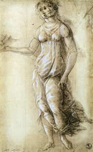 Picture no: 30002652 Botticelli / Female allegorical figure Created by: Botticelli, Sandro