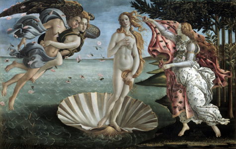 Picture no: 30002654 Birth of Venus / Botticelli / c.1482 Created by: Botticelli, Sandro